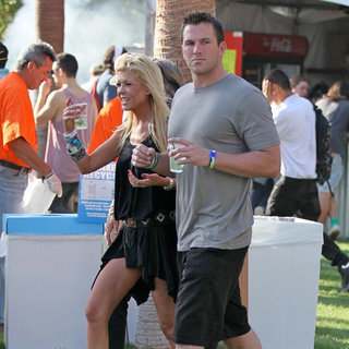 Tara Reid, Doug Reinhardt in Celebrities at The 2011 Coachella Valley Music and Arts Festival - Day 1