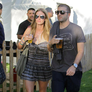 Celebrities at The 2011 Coachella Valley Music and Arts Festival - Day 1