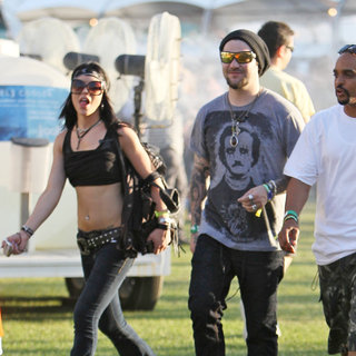 Bam Margera in Celebrities at The 2011 Coachella Valley Music and Arts Festival - Day 1
