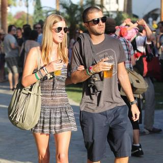 Nicky Hilton, David Katzenberg in Celebrities at The 2011 Coachella Valley Music and Arts Festival - Day 1