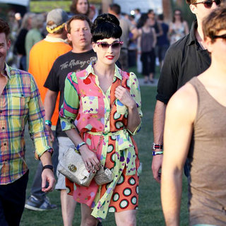 Dita Von Teese - Celebrities at The 2011 Coachella Valley Music and Arts Festival - Day 1