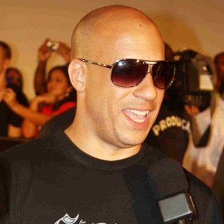 Vin Diesel in 'Fast and Furious Five' Brazilian Premiere