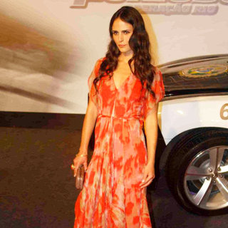 Jordana Brewster in 'Fast and Furious Five' Brazilian Premiere