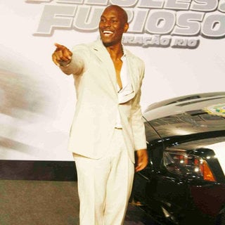 Tyrese Gibson in 'Fast and Furious Five' Brazilian Premiere