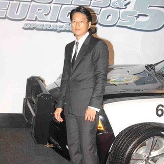 Sung Kang in 'Fast and Furious Five' Brazilian Premiere