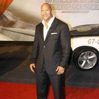The Rock in 'Fast and Furious Five' Brazilian Premiere