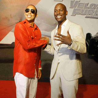 Ludacris, Tyrese Gibson in 'Fast and Furious Five' Brazilian Premiere