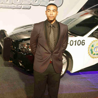 Don Omar in 'Fast and Furious Five' Brazilian Premiere