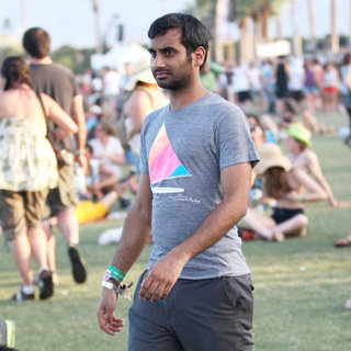 Aziz Ansari in Celebrities at The 2011 Coachella Valley Music and Arts Festival - Day 3