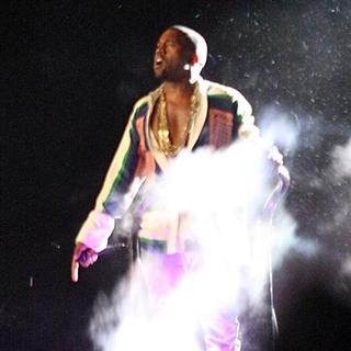 Kanye West - Celebrities at The 2011 Coachella Valley Music and Arts Festival - Day 3