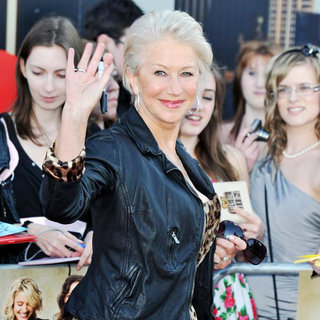 Helen Mirren in UK Film Premiere of 'Arthur'