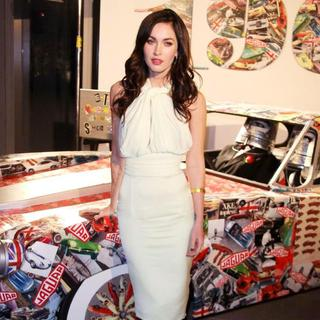 Megan Fox in Celebration of Jaguar Design and The 50th Anniversary of The Jaguar E-Type