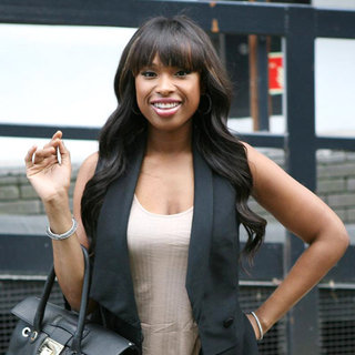Jennifer Hudson in Outside The ITV studios