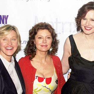 Ellen DeGeneres, Susan Sarandon, Geena Davis in The 2006 Matrix Awards Presented by NY Women in Communications