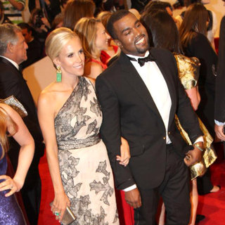 Tory Burch, Kanye West in Alexander McQueen: Savage Beauty Costume Institute Gala