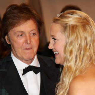 Paul McCartney, Kate Hudson in Alexander McQueen: Savage Beauty Costume Institute Gala