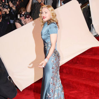 Madonna in Alexander McQueen: Savage Beauty Costume Institute Gala