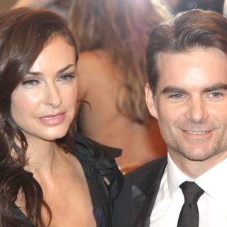Ingrid Vandebosch, Jeff Gordon in Alexander McQueen: Savage Beauty Costume Institute Gala