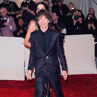 Mick Jagger - Alexander McQueen: Savage Beauty Costume Institute Gala