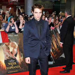 Robert Pattinson in Water for Elephants - UK Film Premiere