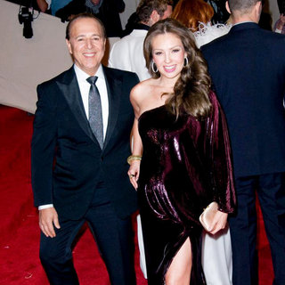 Thalia in Alexander McQueen: Savage Beauty Costume Institute Gala - wenn5647636