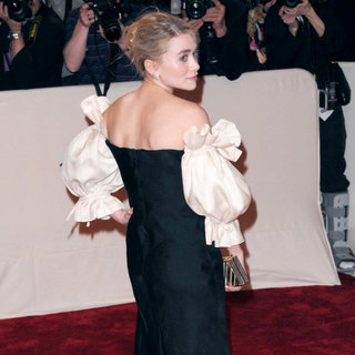 Ashley Olsen in Alexander McQueen: Savage Beauty Costume Institute Gala