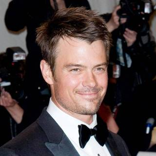 Josh Duhamel in Alexander McQueen: Savage Beauty Costume Institute Gala