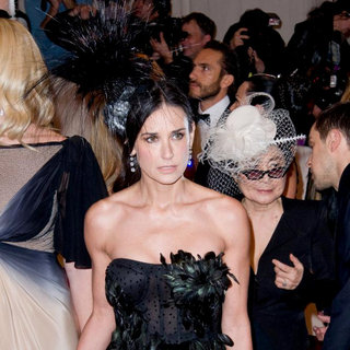 Demi Moore in Alexander McQueen: Savage Beauty Costume Institute Gala