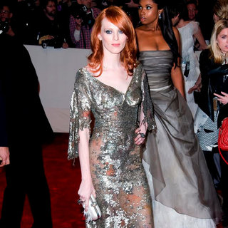Karen Elson in Alexander McQueen: Savage Beauty Costume Institute Gala