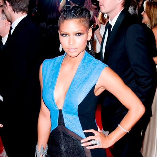 Cassie in Alexander McQueen: Savage Beauty Costume Institute Gala