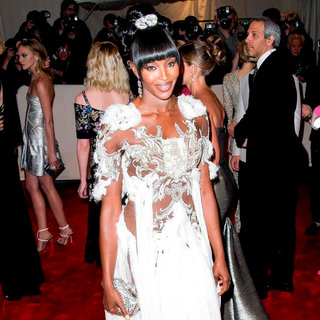 Naomi Campbell in Alexander McQueen: Savage Beauty Costume Institute Gala