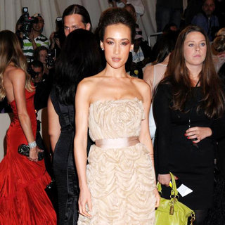 Maggie Q in Alexander McQueen: Savage Beauty Costume Institute Gala