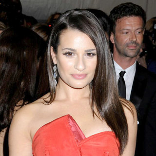 Lea Michele in Alexander McQueen: Savage Beauty Costume Institute Gala
