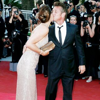 Roberta Armani, Sean Penn in 2011 Cannes International Film Festival - Day 10 - This Must Be the Place - Premiere