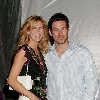 Eddie Cibrian, Brandi Glanville in The 3rd Annual Los Angeles Lakers Casino Night