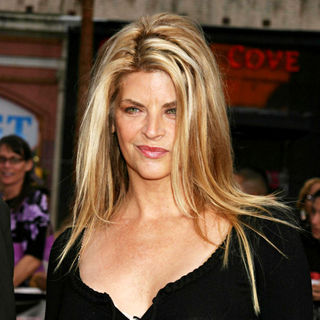 Kirstie Alley in High School Musical Press Event