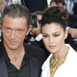 Monica Bellucci, Vincent Cassel in Cannes Film Festival 2006 - Screening of the film 'Indigenes'