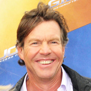 Dennis Quaid in G.I. Joe Photocall