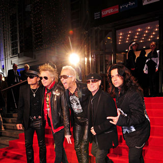 Scorpions - The 15th annual Goldene Henne Medienpreis Awards - Red Carpet Arrivals