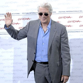 Richard Gere in Photocall 'Hachiko: A Dog's Story' at The 4th Annual International Rome Film Festival