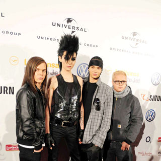 Tokio Hotel in Universal Music European Music Awards (EMAs) aftershow party