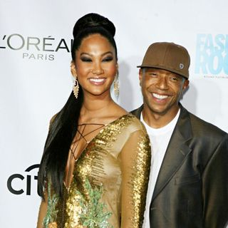 Kimora Lee Simmons, Russell Simmons in 3rd Annual Fashion Rocks Concert - Red Carpet Arrivals