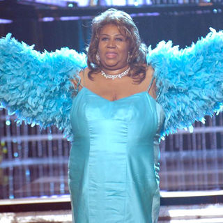 Aretha Franklin in The United Negro College Fund's 28th Annual 'An Evening of Stars' Tribute to Aretha Franklin