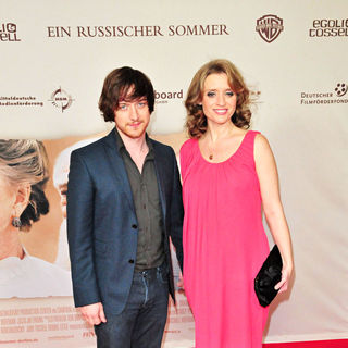 Anne-Marie Duff in The German premiere of 'Ein russischer Sommer' ('The Last Station') - wenn8372832