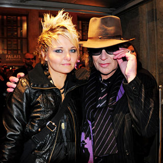 Udo Lindenberg, Tine Acke in 19th Annual Echo Awards 2010 - Red carpet arrivals