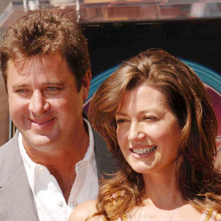 Vince Gill, Amy Grant in Amy Grant Accepts Her Star on The Hollywood Walk of Fame