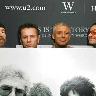 U2 in U2 Photocall and Book Siging for 'U2 by U2'