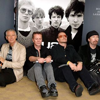 U2 in Booksigning of 'U2 by U2'