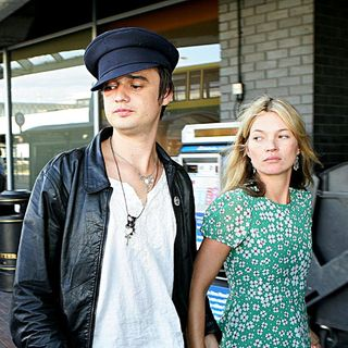 Kate Moss - Pete Doherty and Kate Moss Leaving at Dublin Airport