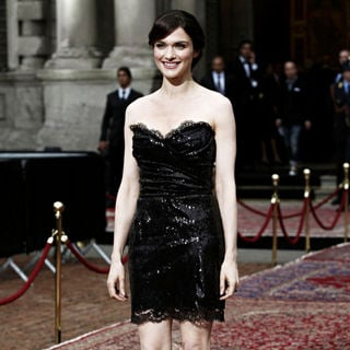 Rachel Weisz in Dolce & Gabbana's '20 Years of Menswear' Party During Milan Fashion Week Spring/Summer 2011